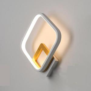 Led Nordic Style Wall Lamp Hall Staircase Simple Modern Tv Background Wall Light Bedroom Bedside LED Indoor Lighting