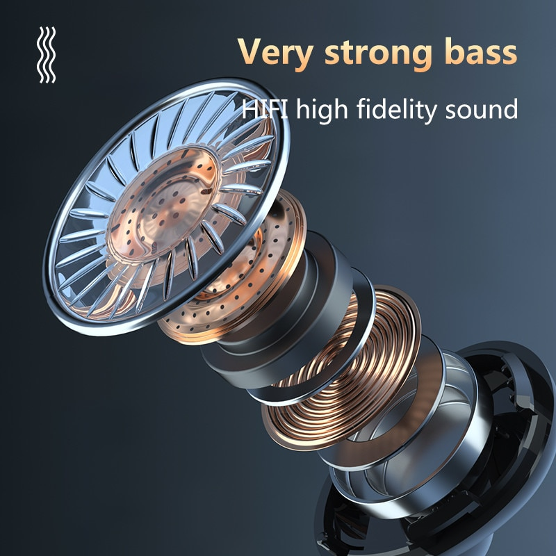 3500mAh TWS Bluetooth-comaptible 5.1 Earphones Wireless Headphone 9D Stereo Sports Waterproof Earbuds Headsets With Microphone enlarge