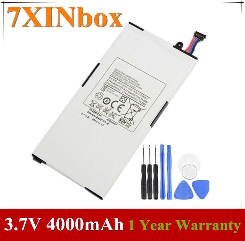7 xinbox 3.7 v 14.8wh 4000 mah sp4960c3a bateria do portátil para samsung galaxy tab p1000 (GT-P1000) p1010 (GT-P1010) B056H004-001