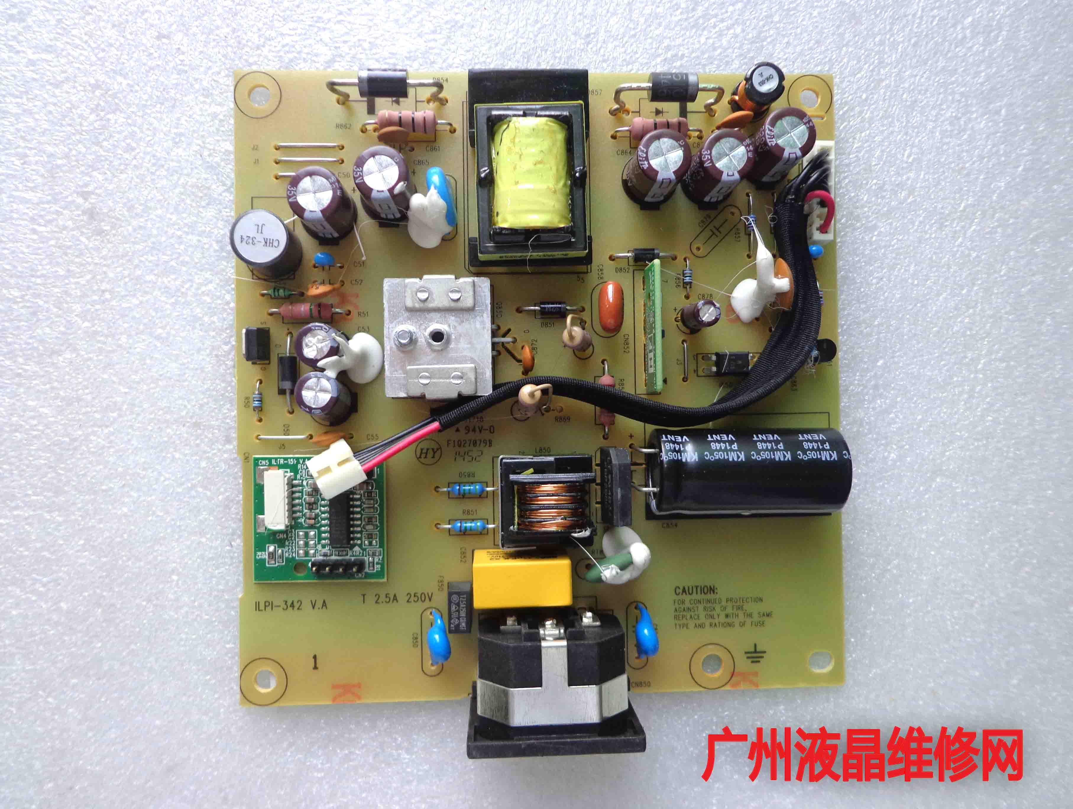 E2015HVF E2215HVF original power supply board ILPI-342 491A01131400H06