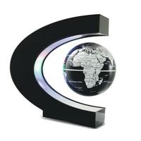 magnetic levitation globe floating world map ball lamp cool lighting office home decoration terrestrial globe lamp