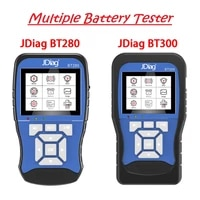 newest jdiag bt280 12v universal battery tester for car trucks boats motorcycle professional jdiag bt300 12v24v battery tester