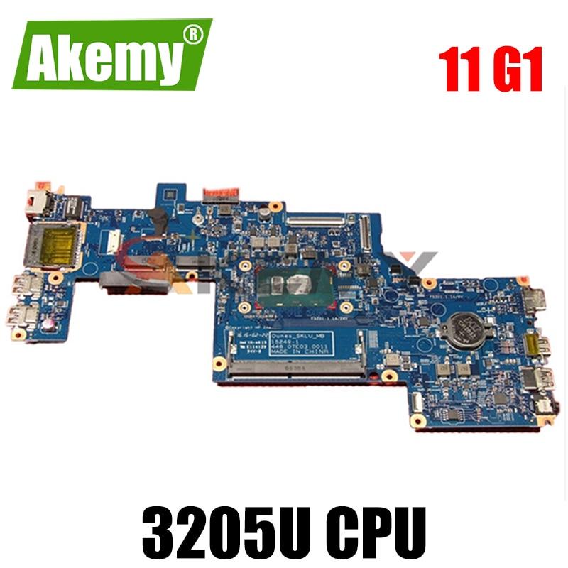 ل HP ProBook 11 G1 سلسلة اللوحة المحمول 809873-601 809873-001 809873-501 3205U 100% العمل