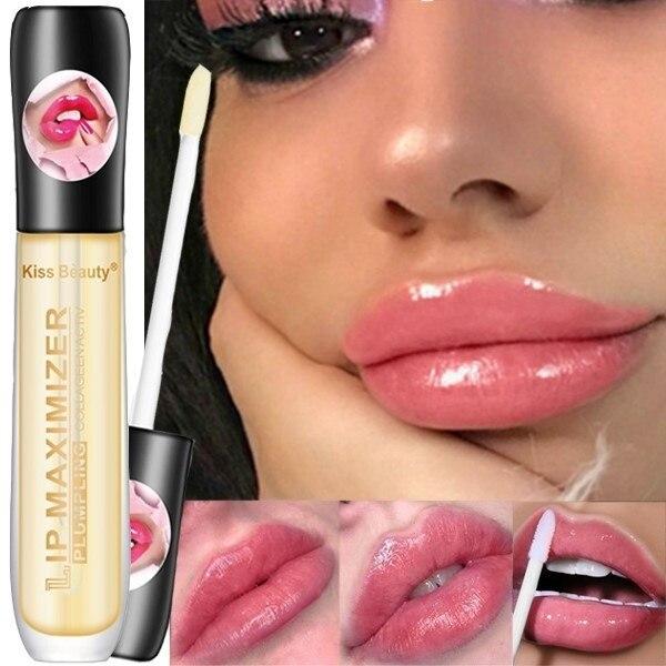 1 Pcs Sexy Lips Care Makeup 3D Lipgloss Tint Ultra Oil Moisturizer Liquid Lipstick Plumper Lip Glaze Glitter Lip Gloss