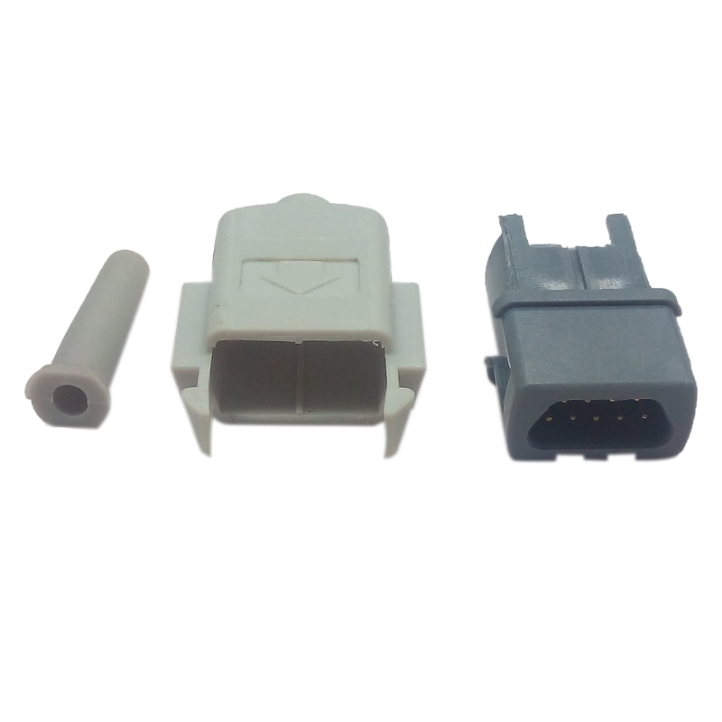 9 Pin SpO2 Connector Assembled Used for GE Medical Ohmeda Trusat Patient Monitor Blood Oxygen SpO2 Sensor