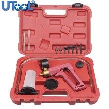 Automotive Tools Hand Held Vacuum Pump& Vacumm Tester Brake Bleeder Set