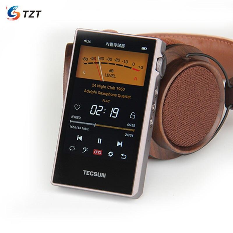 TZT Tecsun PD-60 Hi-Fi Music Player 24bit 192kHz Digital Audio Player HiFi Bluetooth 4.2 Audio Music Player WAV FLAC APE DSD128