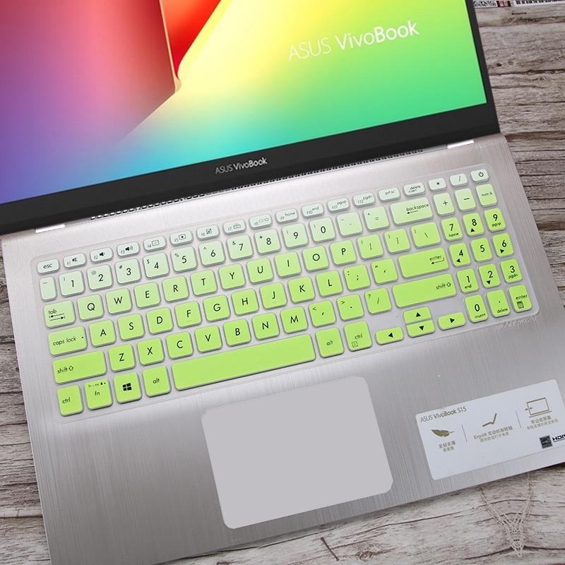 Protetor de capa de teclado capas de pele para asus vivobook s15 s530ua s530un s512, vivobook f512 f512da f512fa, x509 x509fa 15.6