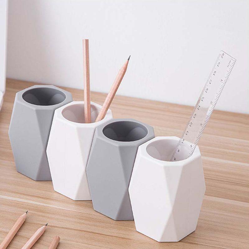 Silikon Stift Halter Bleistift Lagerung Box Büro Organizer Make-Up Pinsel Container