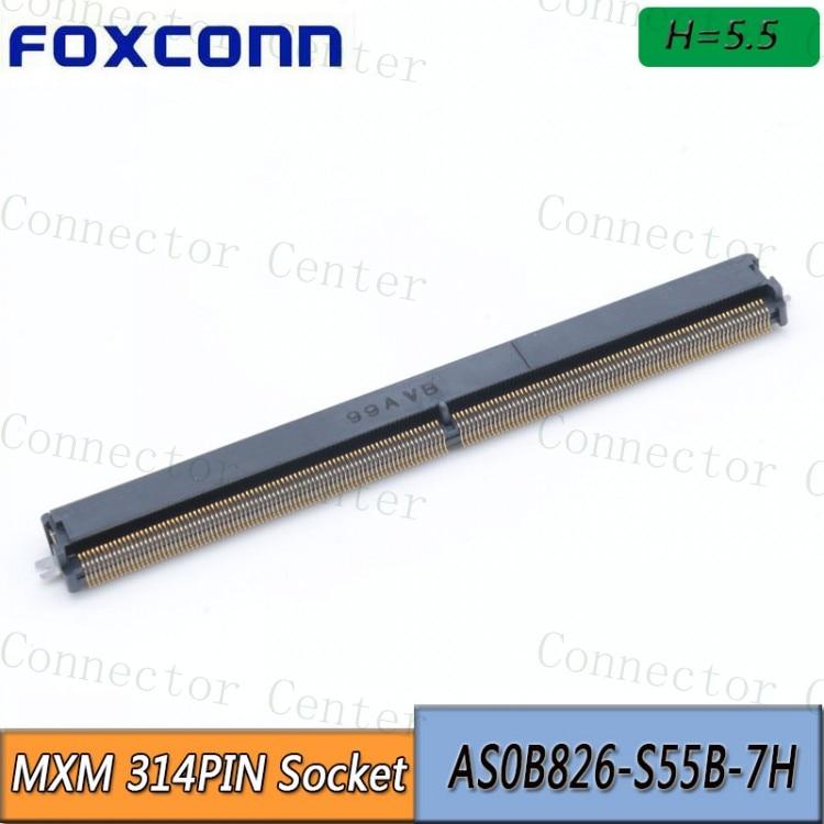 MXM 314Pin المقبس H5.5 موصل 314P AS0B826-S55B-7H