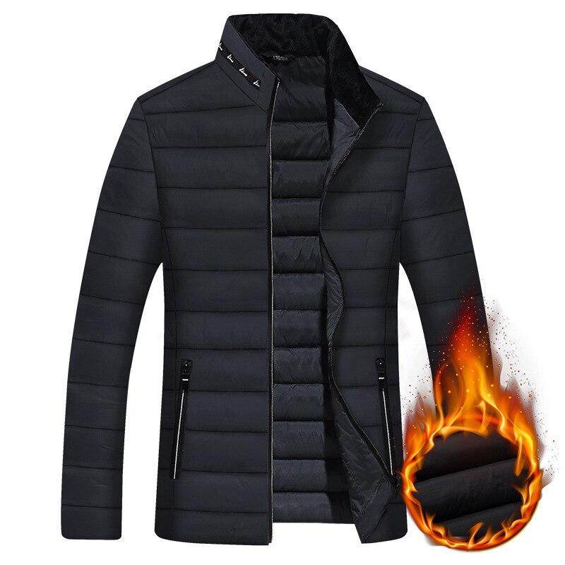 New Down Jacket Men Jackets Parka Men Quality Autumn Winter Warm Outwear Brand Slim Mens Coats Casua