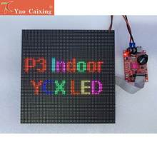 Módulo Led P3 para interior Smd 192x192mm a todo Color, placa Digital de pared de vídeo, Envío Gratis