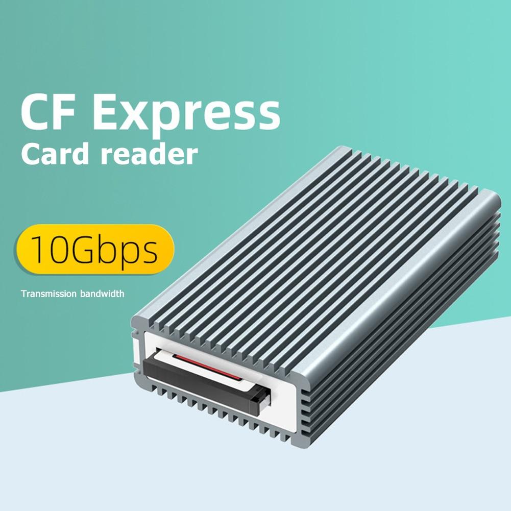 MAIWO K1685CF CF Express Card Reader Aluminum Alloy High Speed 10Gbps Type-C GEN2 Compact Flash Memory Card Adapter enlarge