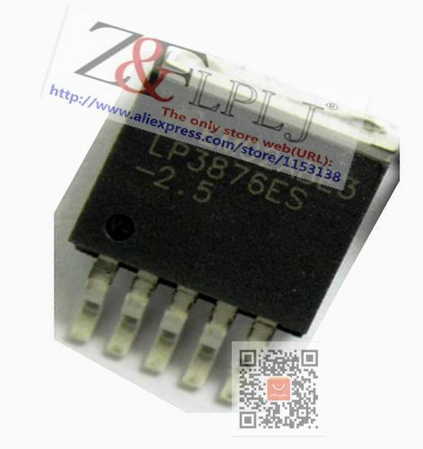 LP3876ES-2.5 lp3876es-2.5 LP3876ES-2.5/nopb LP3876ES-2.5V TO263-5 3a rápido ultra baixo abandonar reguladores lineares novo original 5 pces