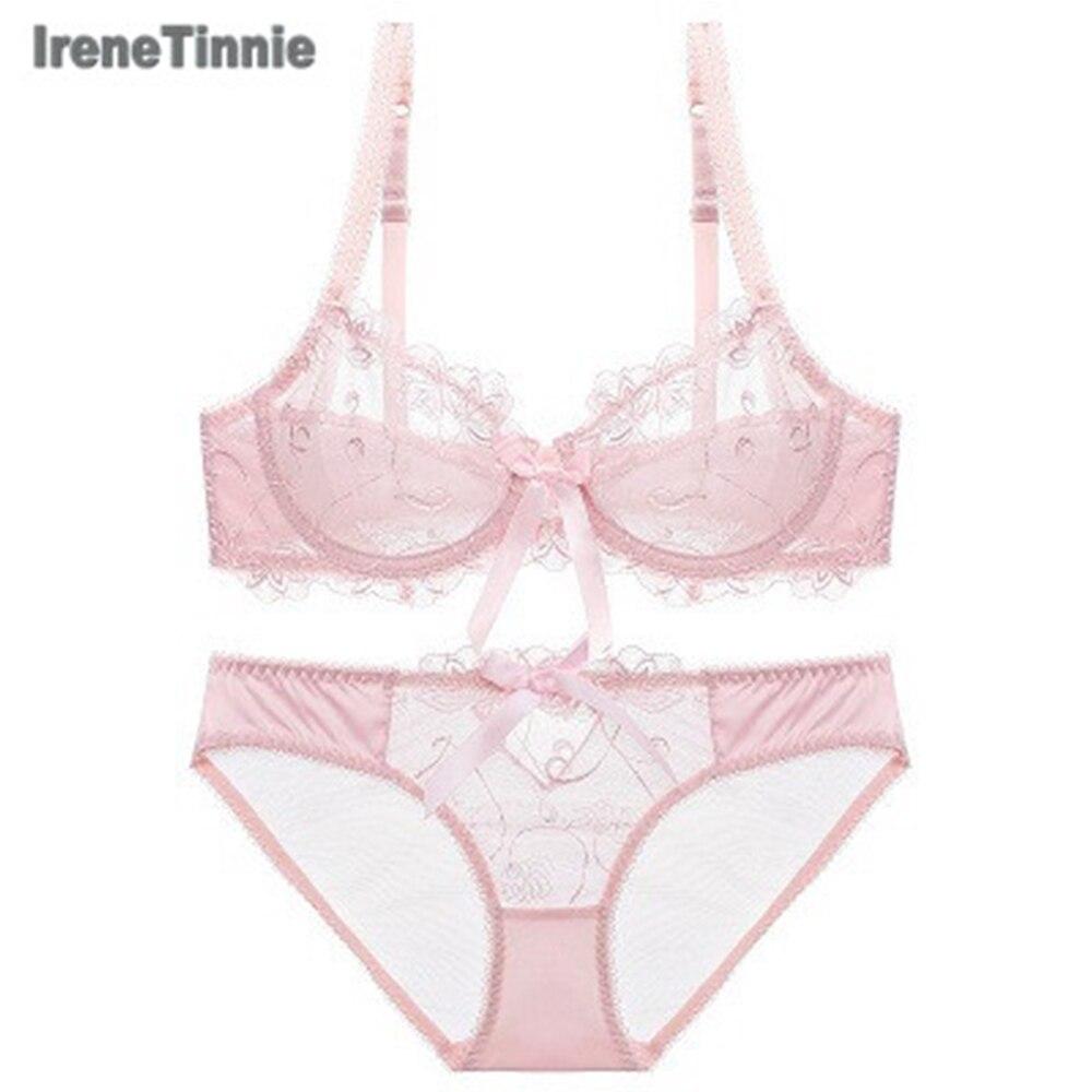 Conjunto de lencería con recorte tipo encaje Sexy para primavera y verano Iren Tinnie Con pechos pequeños y pechos pequeños