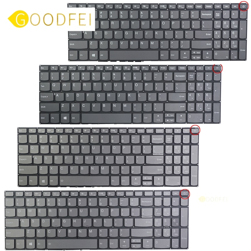 Genuine Laptop Replacement Keyboard for Lenovo IdeaPad 320-15 320-15ABR 320-15AST 320-15IAP ISK IKB 520-15 US English keyboard