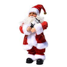 Christmas Decorations Electric Santa Claus Electronic Music Dolls Kids Toys Xmas Gifts MDJ998
