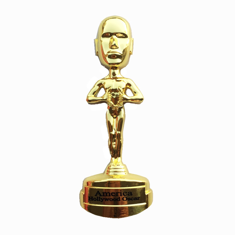 Metall Los Angeles Hollywood Kühlschrank Magneten Reise Souvenirs 3D Oscars Awards Goldman Kühlschrank Magnet Handwerk Geschenk