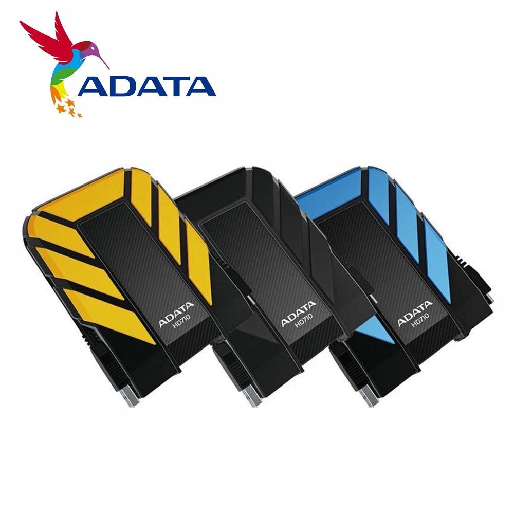 AData nuevo disco duro externo 1TB 2TB 4TB 5TB HD710 Pro 2,5 pulgadas USB3.2 disco duro portátil Norma militar a prueba de golpes IEC a prueba de polvo