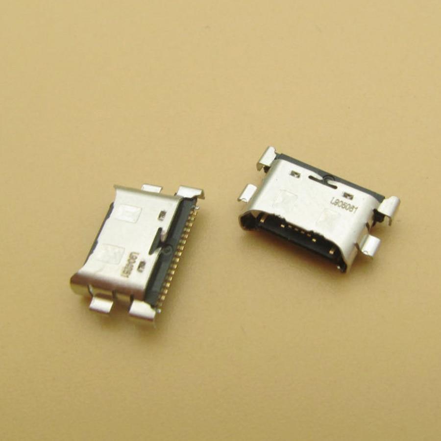 USB شاحن موصل جاك المقبس لهواوي MediaPad M5 لايت 10 BAH-AL00 BAH-W09 BAH-L09 شحن المكونات قفص الاتهام استبدال أجزاء