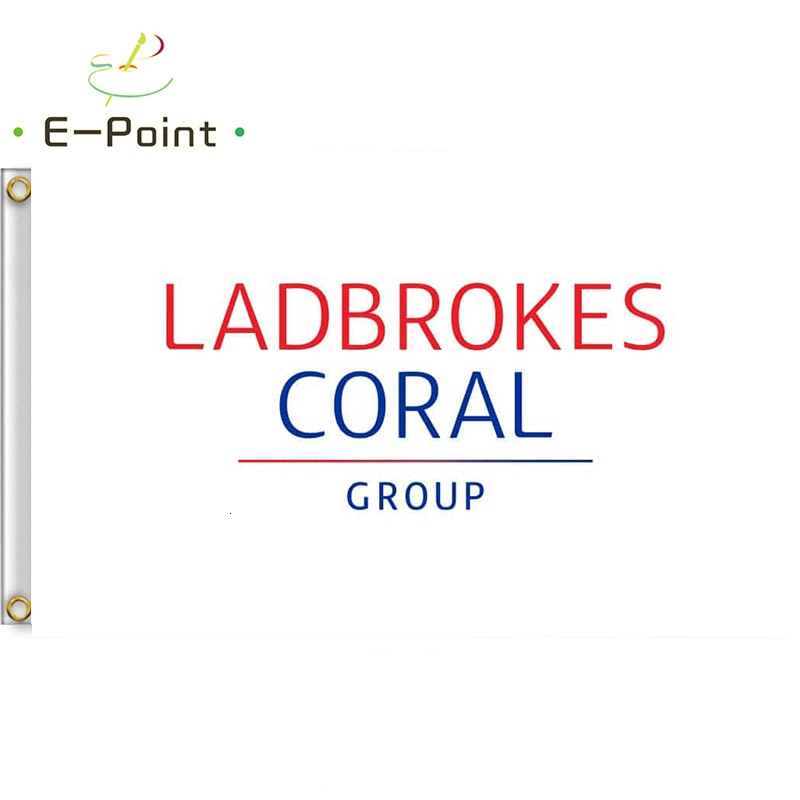 Ladbrokes Coral Group Flag 2ft*3ft (60*90cm) 3ft*5ft (90*150cm) Size Christmas Decorations for Home Flag Banner Gifts