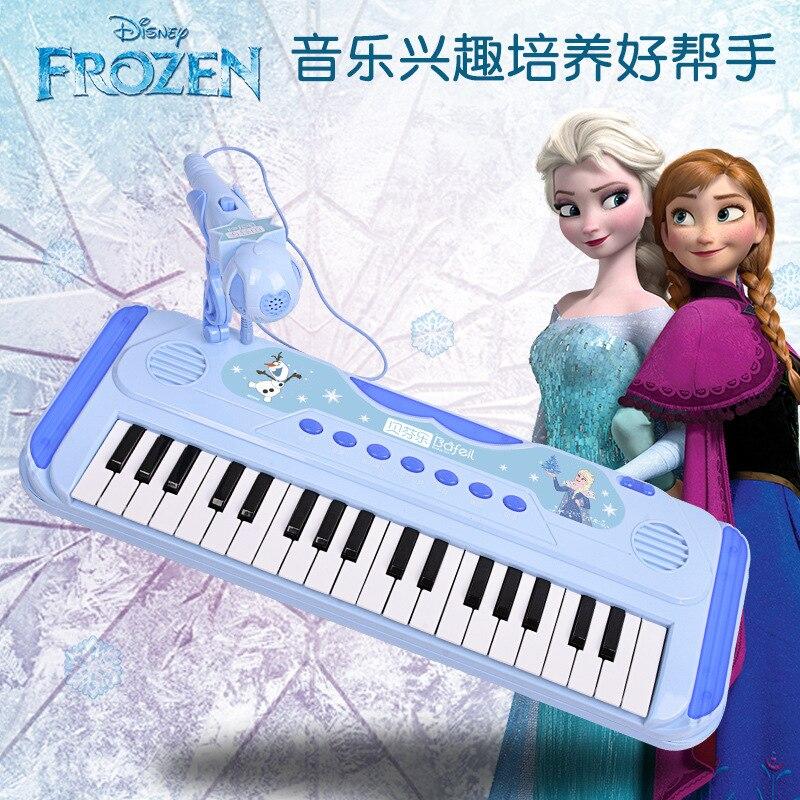 original disney congelado 37 chave orgao eletronico criancas instrumento de musica