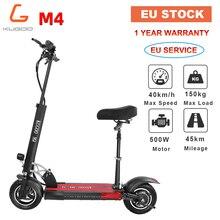 [EU STOCK] KUGOO KIRIN M4 Folding Electric Scooter 48V 11AH 500W 43KM/H 45KM Disk Brake 10 Inch E scooter better M365 PK Ninebot