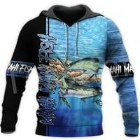 tessffel crap mahi fishing animal art fisher camo harajuku newfashion tracksuit 3dprint long sleeve jacket hoodies menwomen d9