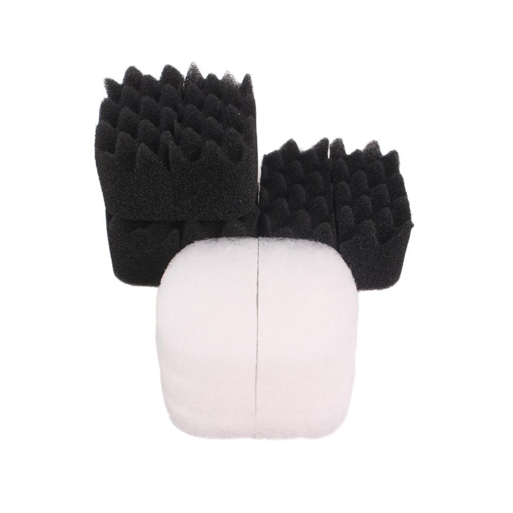 Otowngreat Compatible 6x filtro bio-foam y 6x almohadilla de pulido para Fluval 104/105/106 y 204/205/206