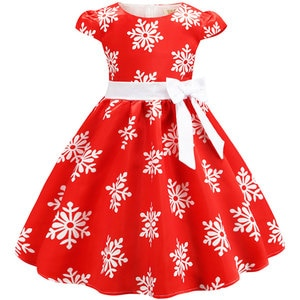 Dress For Girls Fashion Bowknot Party Birthday Dress Girls Puff Sleeve Princess Dresses Summer Elegant Kids Tutu Dress For Girls