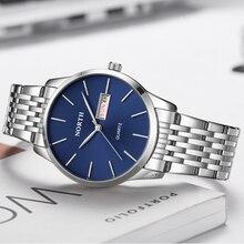 NORTH Top Brand Luxury Business Casual Quartz Watch Men Fashion Mesh Steel Strap Waterproof Sport Me