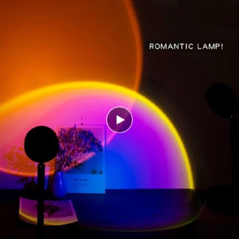 Visual para Transmissão ao Vivo Sunset Crepúsculo Noite Dreamlike Experiência Casa Café Atmosfera Fotografia Fundo Led Luz