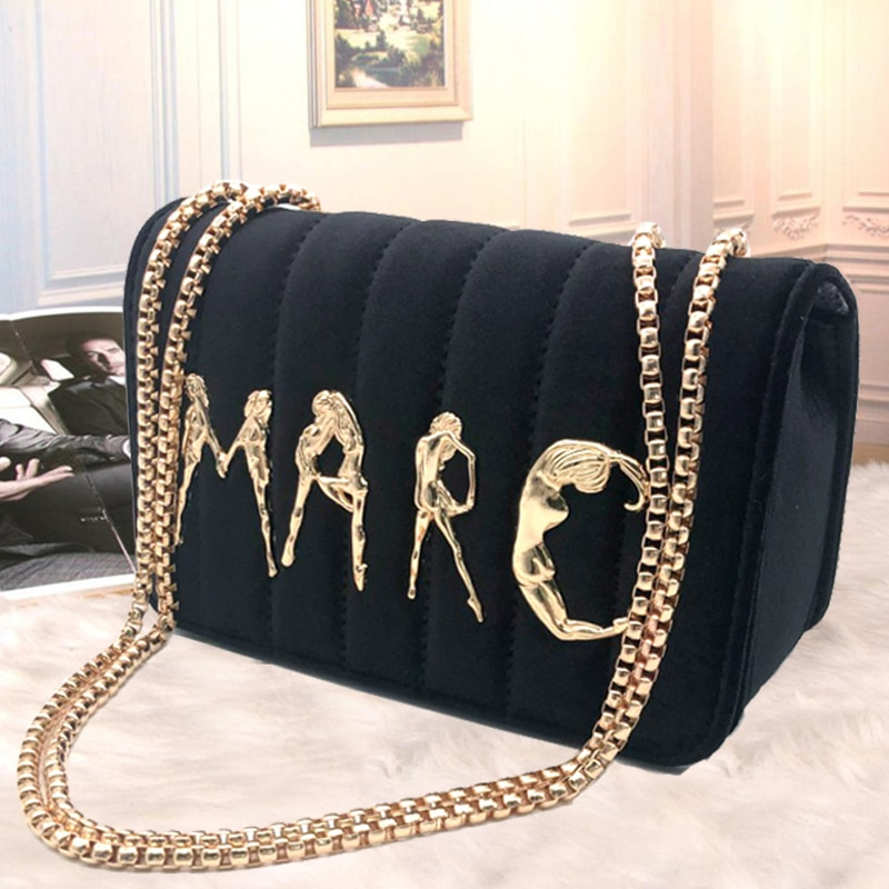 Luxury Quality Plush Crossbody Bags For Women Designer brand Small Handbags Chain Shoulder Messenger Bags Ladies Purses Hand Bag