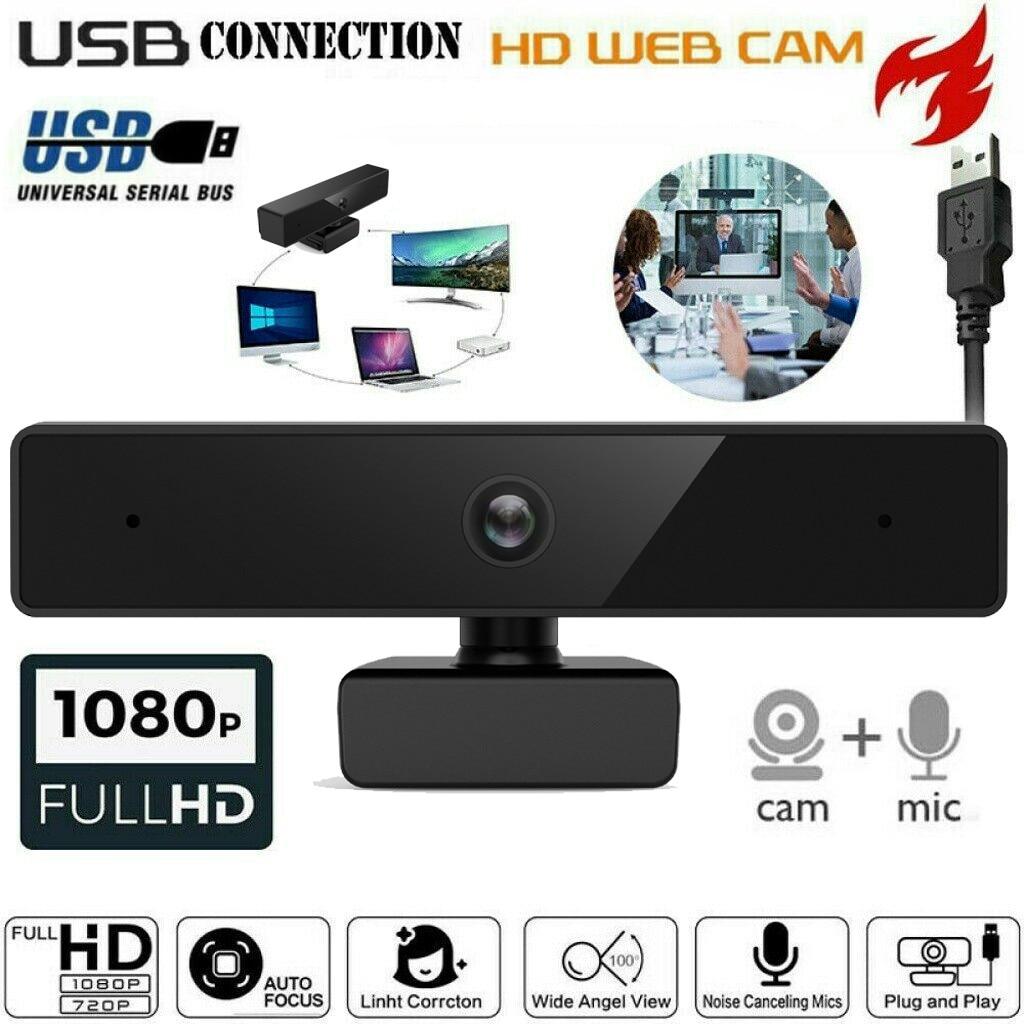 Webcam Full Hd 1080P USB 2.0 Web Camera with MIC Clip-on for Computer PC Laptop веб камера с микрофоном camara para pc A50