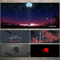 table pads evangelion custom mouse pad cute mousepad xxl gaming accessories mause gamer rug diy deskmat computer mat mice carpet