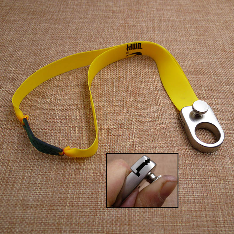 Nuevo anillo Slingshot 304 anillo de acero inoxidable Honda precisión libre atado resorte Clip al aire libre competitivo dedo Honda