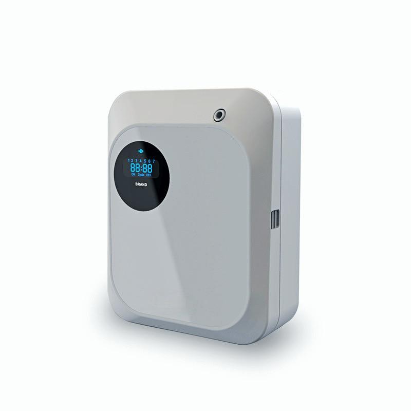 200m3 البطاريات الذكية/الكهربائية زيت طبيعي التجارية ناشر رائحة رائحة العطر آلة للمنزل فندق مكتب 100 مللي