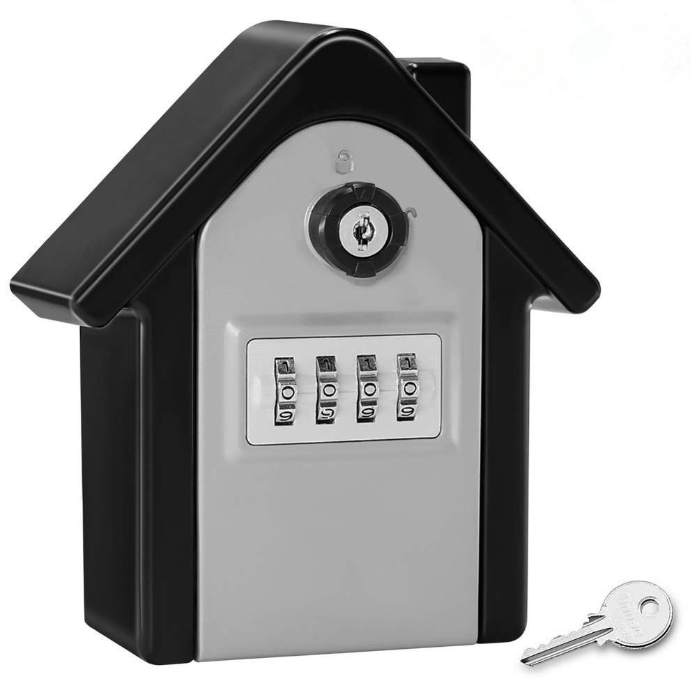 Anti-Theft Password Key Security Lock Box Outdoor Key Storage Box Metal Storage Large Key Insurance Box недорого