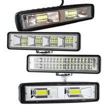 1-2Pcs 12V-24V LED Work Light Bar Flood Spot Offroad 4WD Car SUV Driving Fog Lamp Work Light Bar Flo