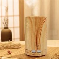Diffuseur dhuile essentielle daromatherapie electrique de securite de Grain en bois classique dhumidificateur darome dair ultrasonique pour la maison