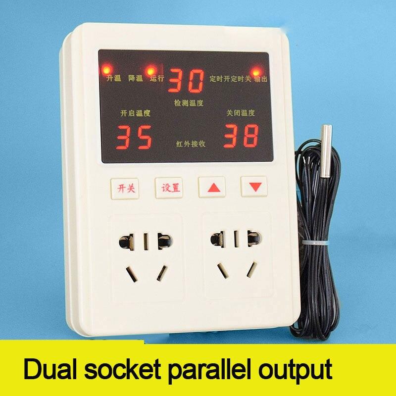 637 أداة التحكم في درجة الحرارة الذكية ، ترموستات درجة الحرارة قابل للتعديل ، فرن متحكم في درجة الحرارة