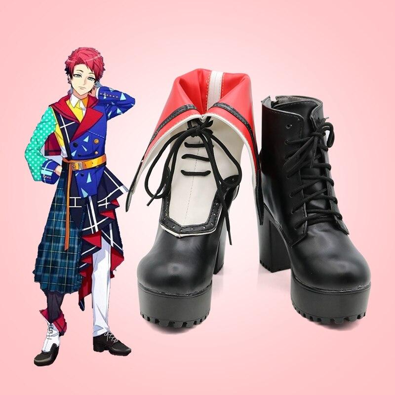 جديد للجنسين أنيمي كوس A3! Nanao Taichi تأثيري ازياء أحذية أحذية هالوين حفلة عيد الميلاد حجم مخصص