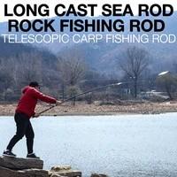 distance throwing sea rod 303 9m4 5m super hard imported carbon light cast single rock fishing rod telescopic carp fishing rod