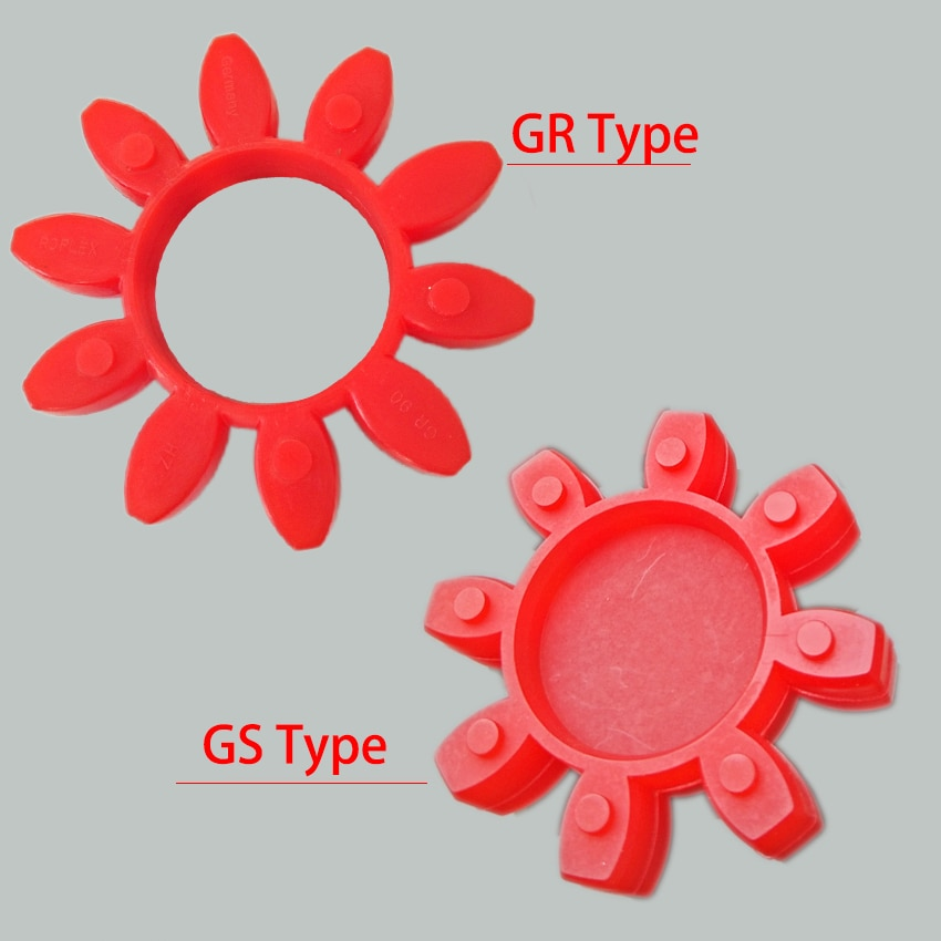 GS-75 GR-75 GR-90 GR-100 GR-110 GR-125 Polyurethane PU Flexible Pump Shaft Coupling Elastic Spider Buffer Damper Cushion Element