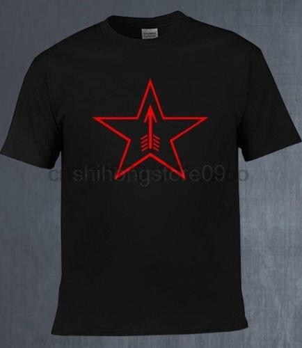 2019 Moda Hot sale New Soviética Russo Mosin Nagant Rifle Sniper Tula estrela logotipo vermelho Preto T shirt Camiseta