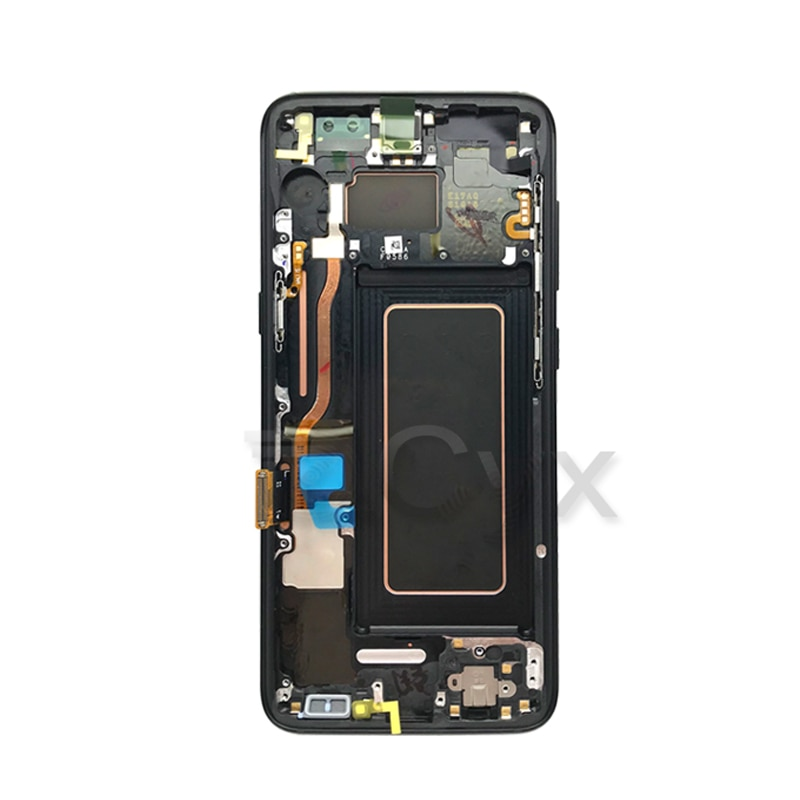 For Samsung Galaxy S8 LCD LCD Display Touch Screen G950F G950U For Samsung S8 Plus G955F G955U Touch Screen Assembly With Burns enlarge
