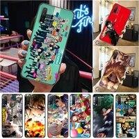 my hero academia todoroki shouto tomura boku dabi shigaraki bakugou katsuki phone case for xiaomi redmi 9 9t 9a pro coque cases