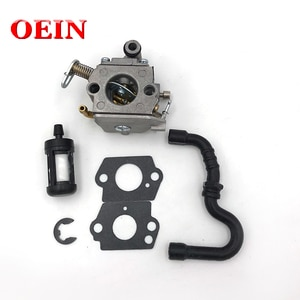 Carburetor Carb Gasket Fuel Filter Hose Kit For STIHL MS170 MS180 MS 170 180 017 018 Zama C1Q-S57B Chainsaw Engine Motor Parts