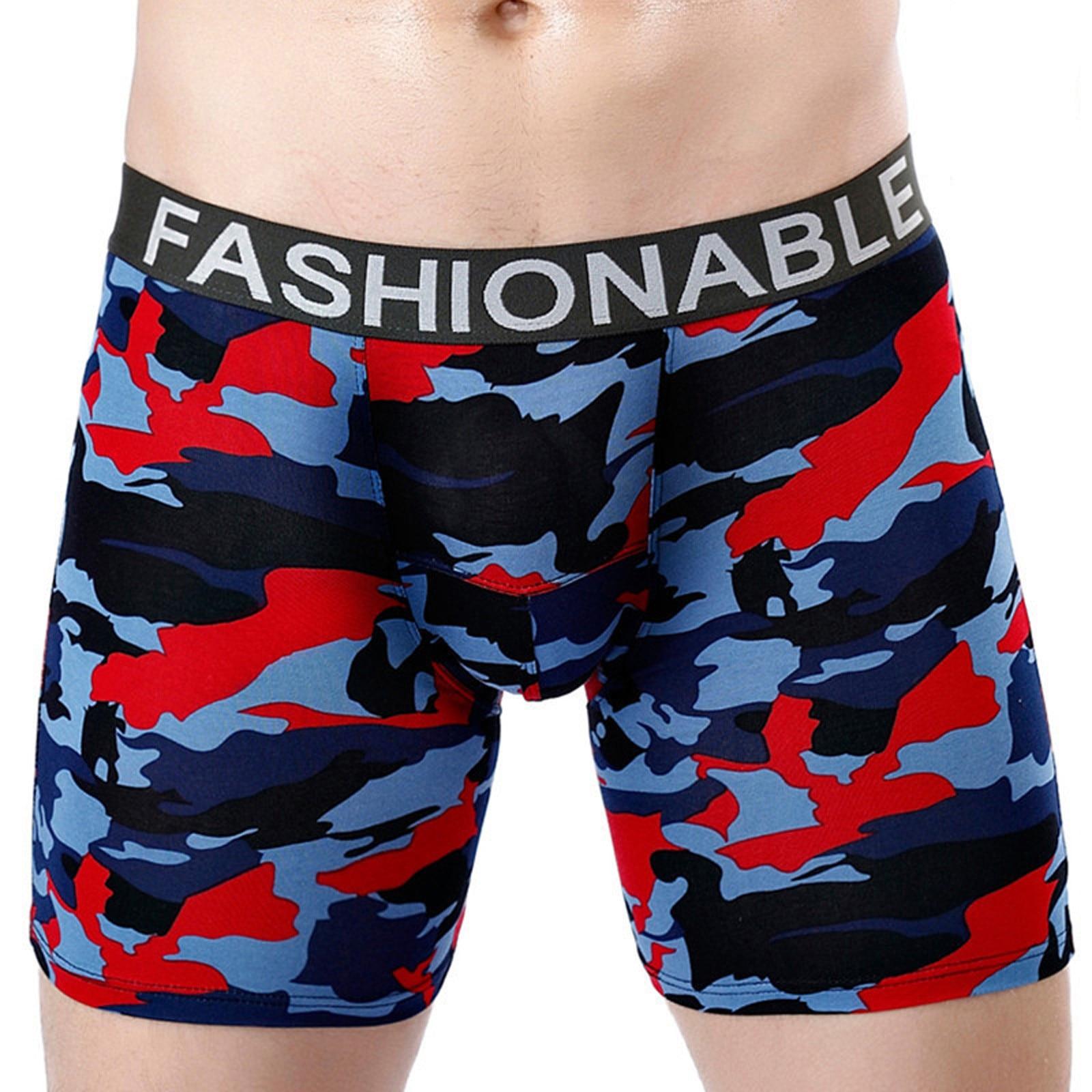 Cotton Men's Underwear Boxers Male Panties Breathable Sexy Man Boxer Solid Underpants Comfortable Pl