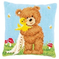 latch hook cushion kits ball pillows wedding cartoon bear home decoration unfinished pillow case kits for embroidery